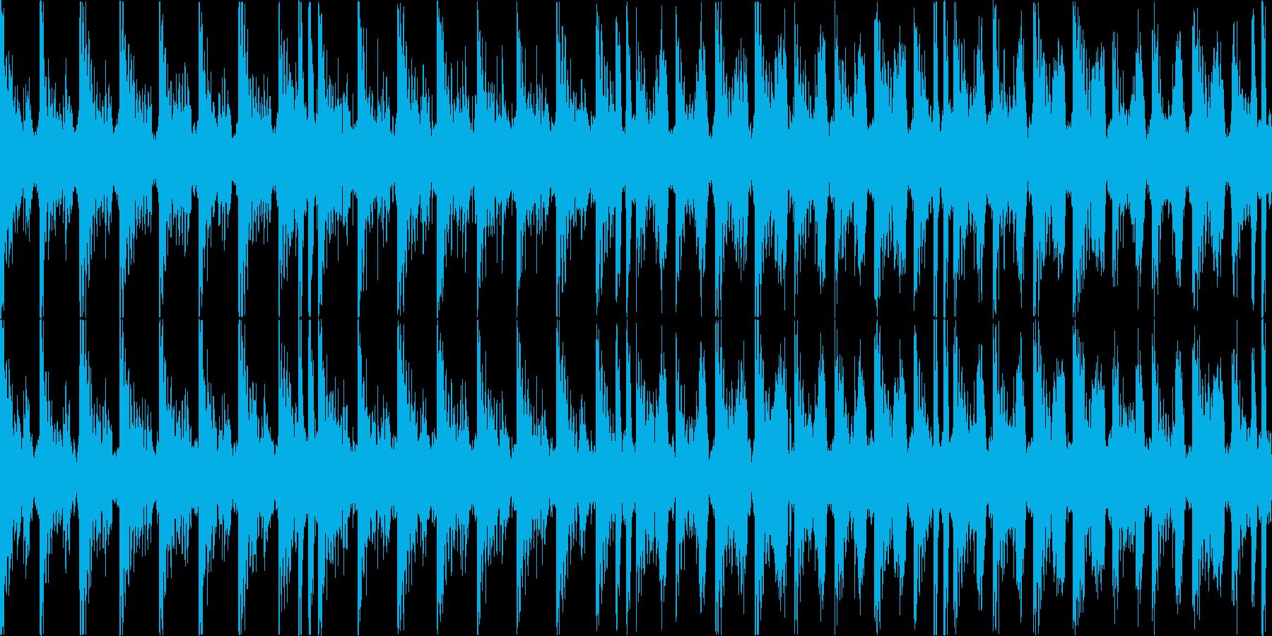 エレピの甘い雰囲気を持った曲の再生済みの波形