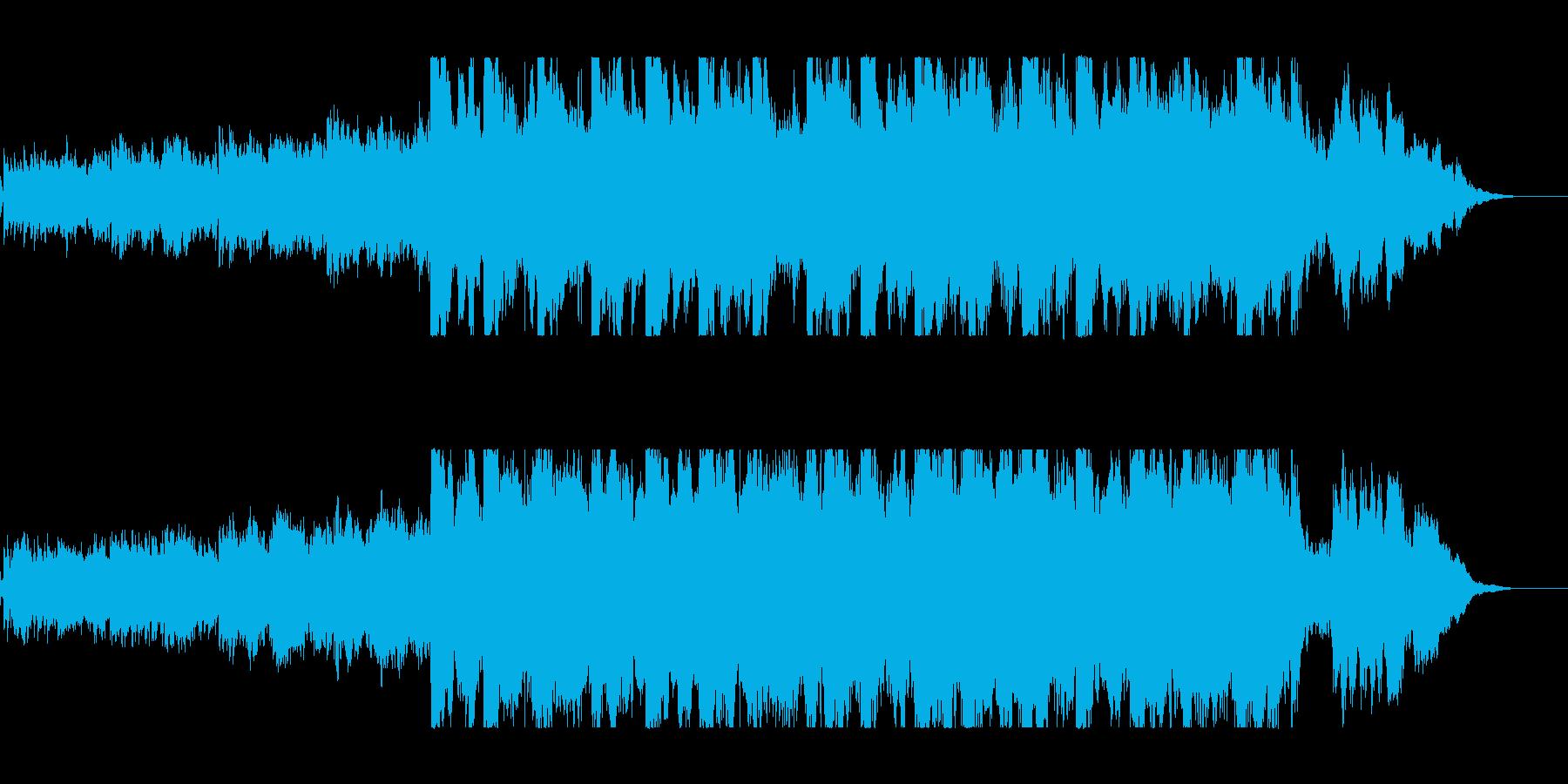オーケストラと和楽器のイージーリスニングの再生済みの波形