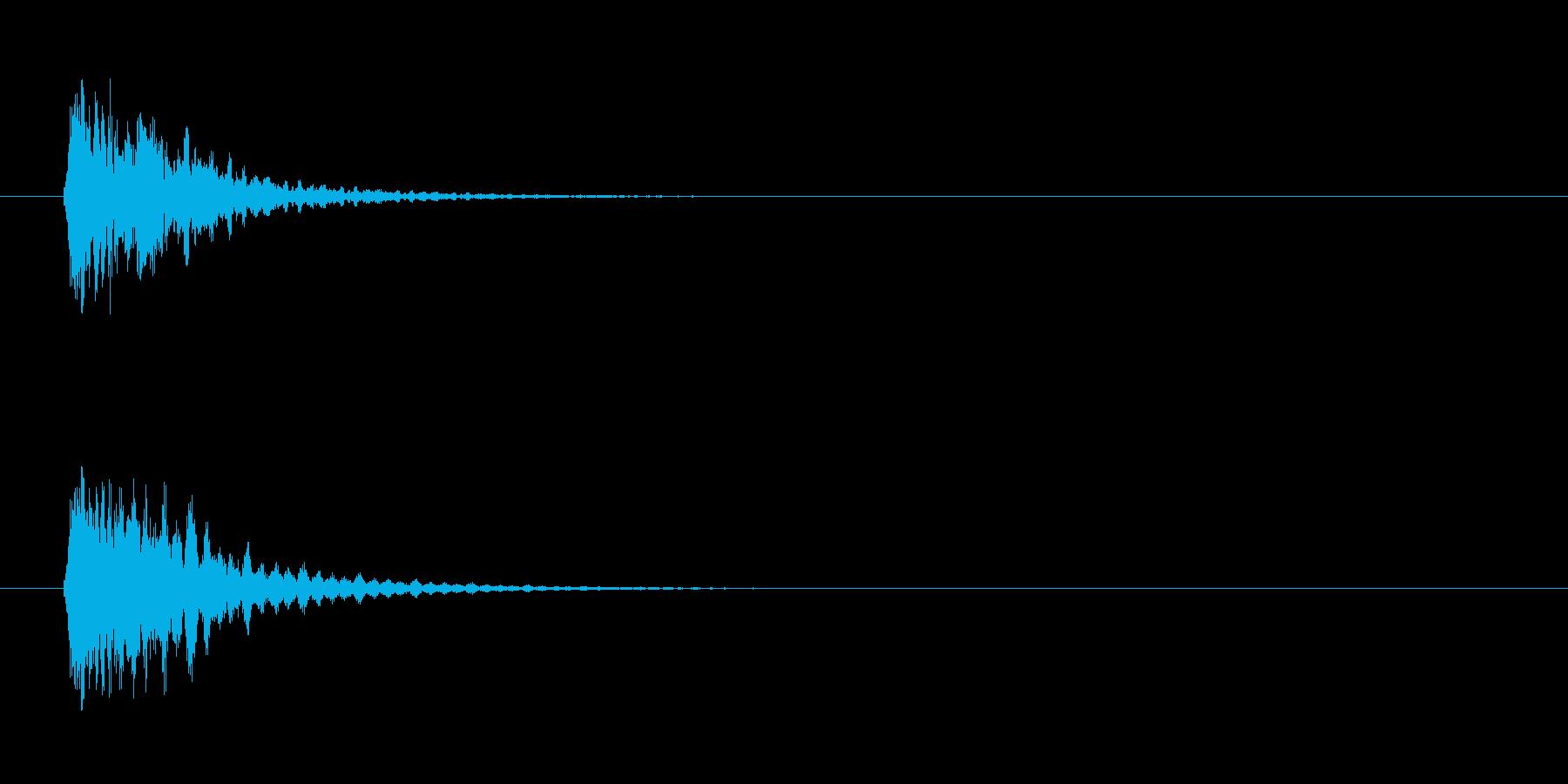 光り系の再生済みの波形