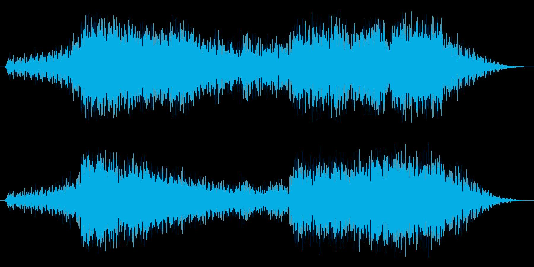 ホルンでゴージャス、でもあっさり終わる…の再生済みの波形
