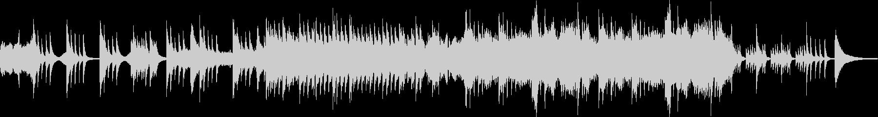 ピアノとチェロのゆったり目なインストの未再生の波形