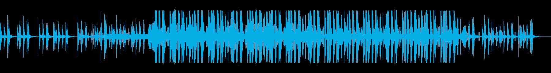 デジタルシンセのエレクトロポップスの再生済みの波形