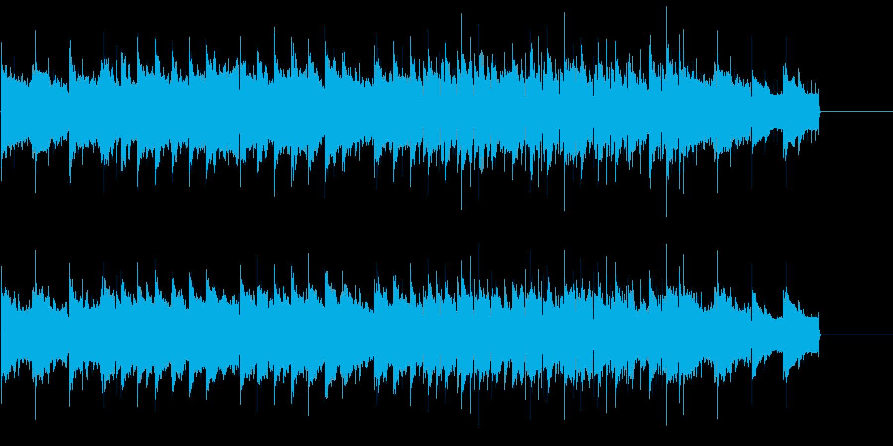 インフォメーション CM 案内 紀行の再生済みの波形