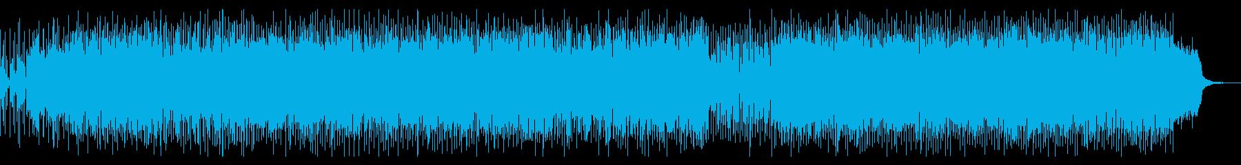 80年代ディスコファンク風フュージョンの再生済みの波形