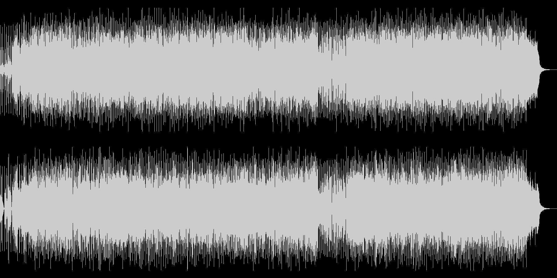 80年代ディスコファンク風フュージョンの未再生の波形