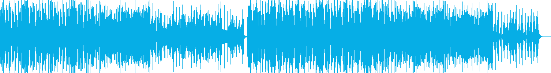 オシャレで可愛いテクノポップ・ディスコ系の再生済みの波形