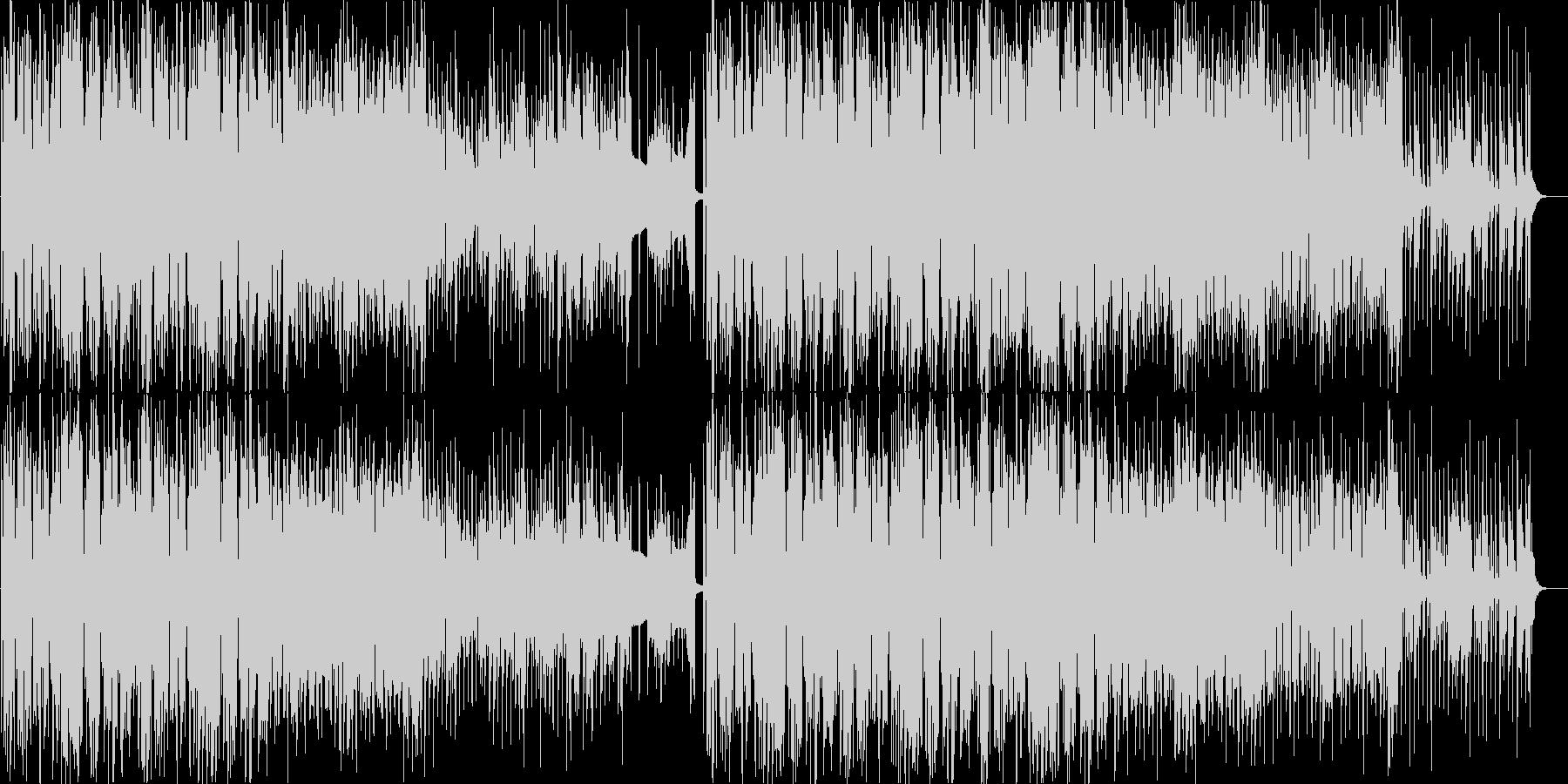 オシャレで可愛いテクノポップ・ディスコ系の未再生の波形