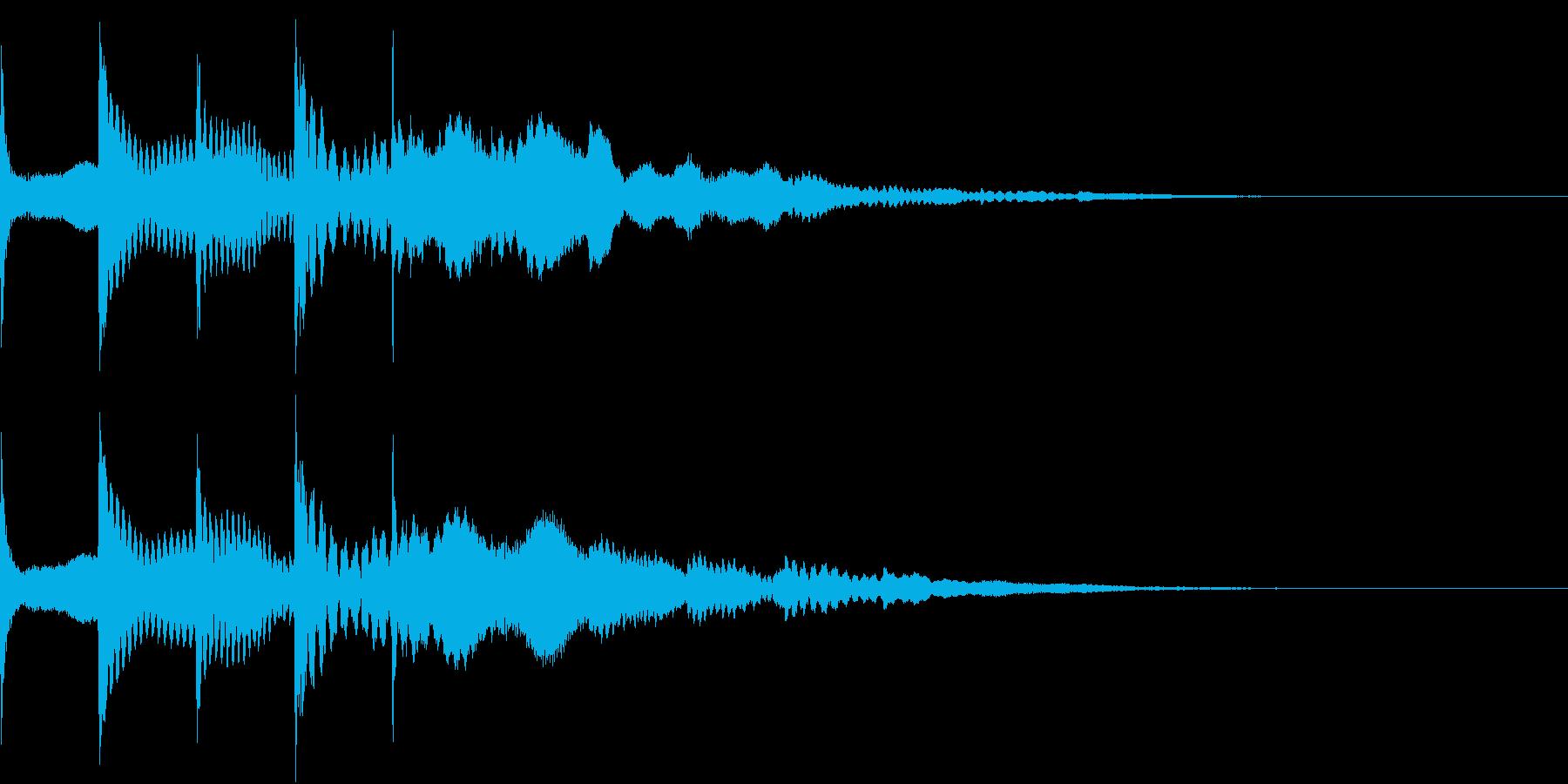 ゆっくり 現れる キラキラ 煌めき 2の再生済みの波形