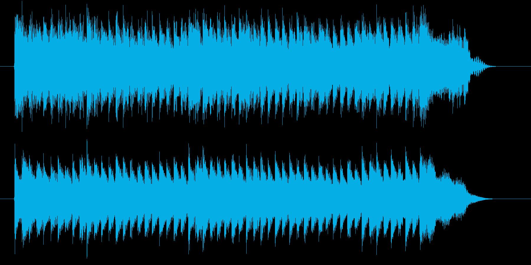 シンキングタイム等に使えるジングルの再生済みの波形