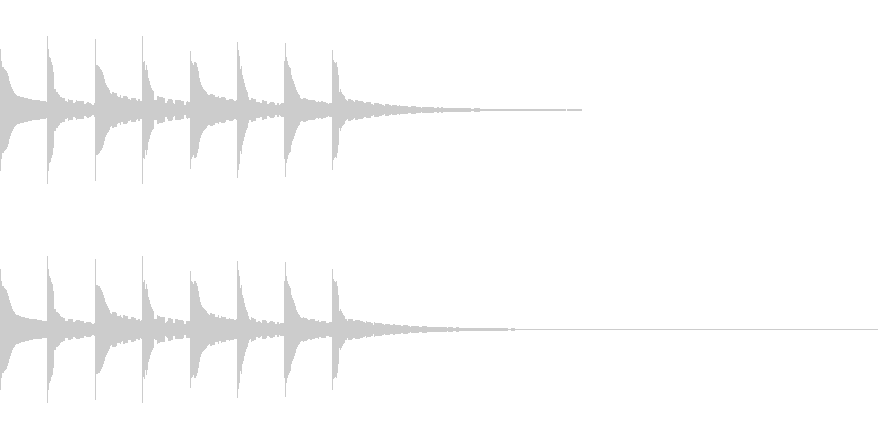 FX・SE/着信音/コール/アラーム/3の未再生の波形