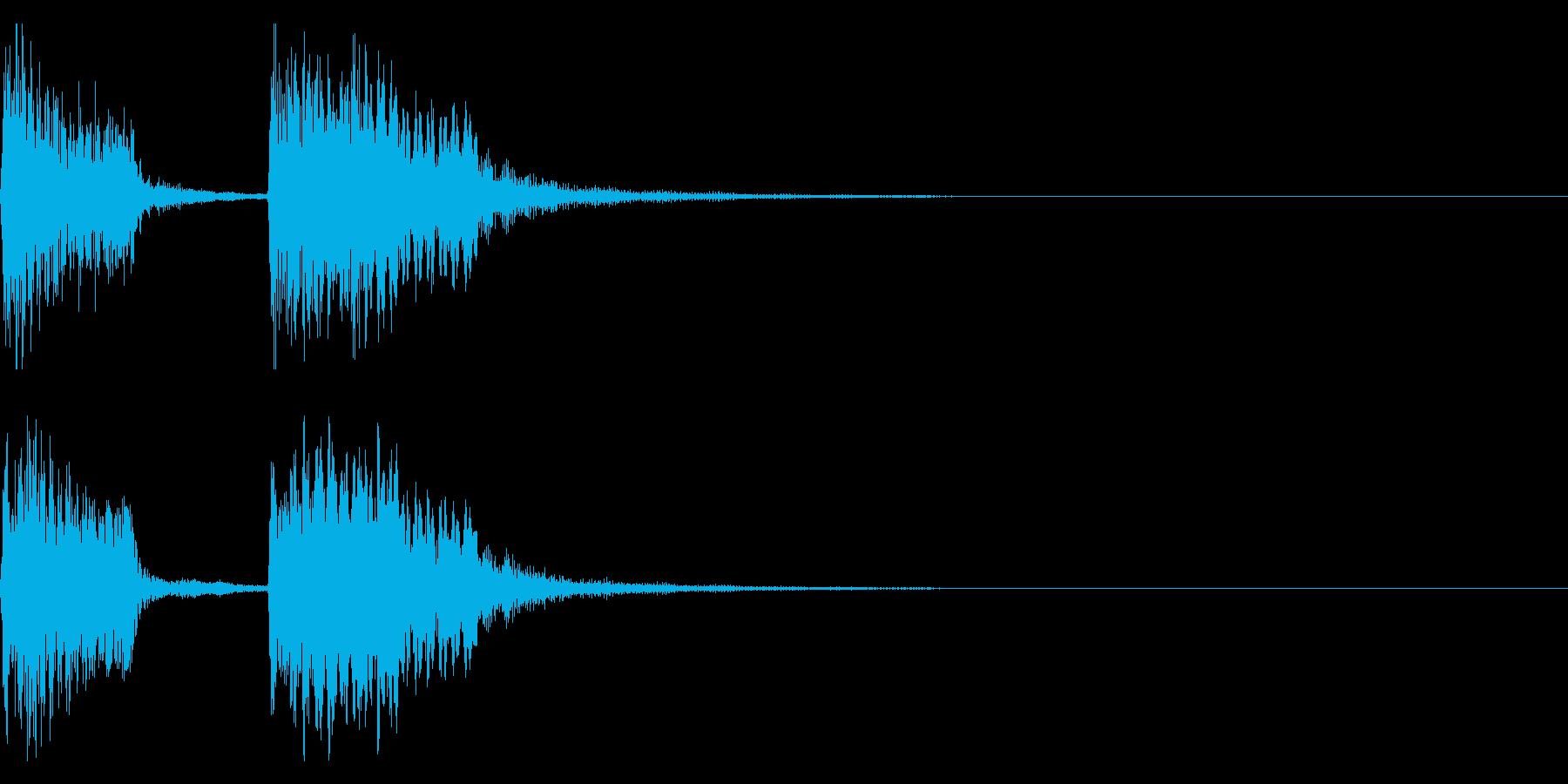 チャンチャン♪お笑いのオチ 効果音08!の再生済みの波形