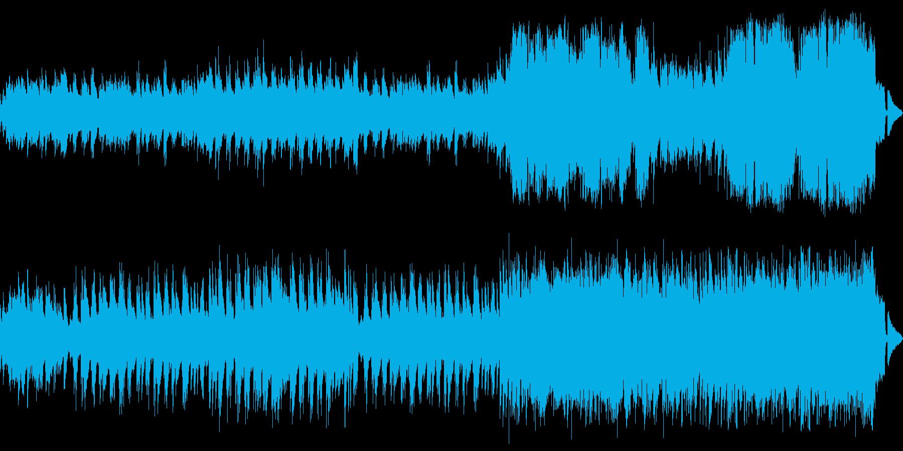 ピアノ中心の優しくてメロディアスなワルツの再生済みの波形