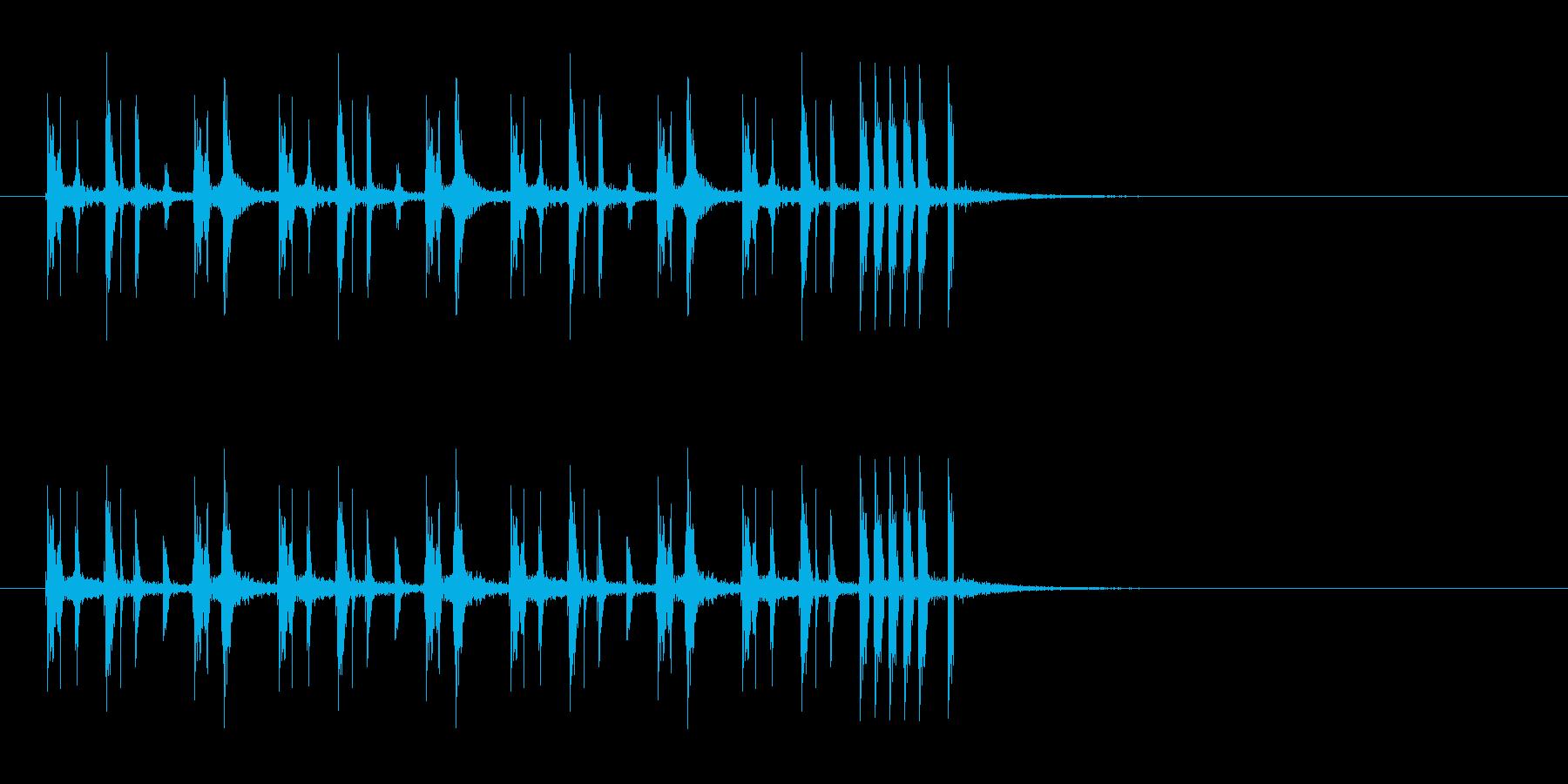 シンプルでキャッチーなリフジングルの再生済みの波形