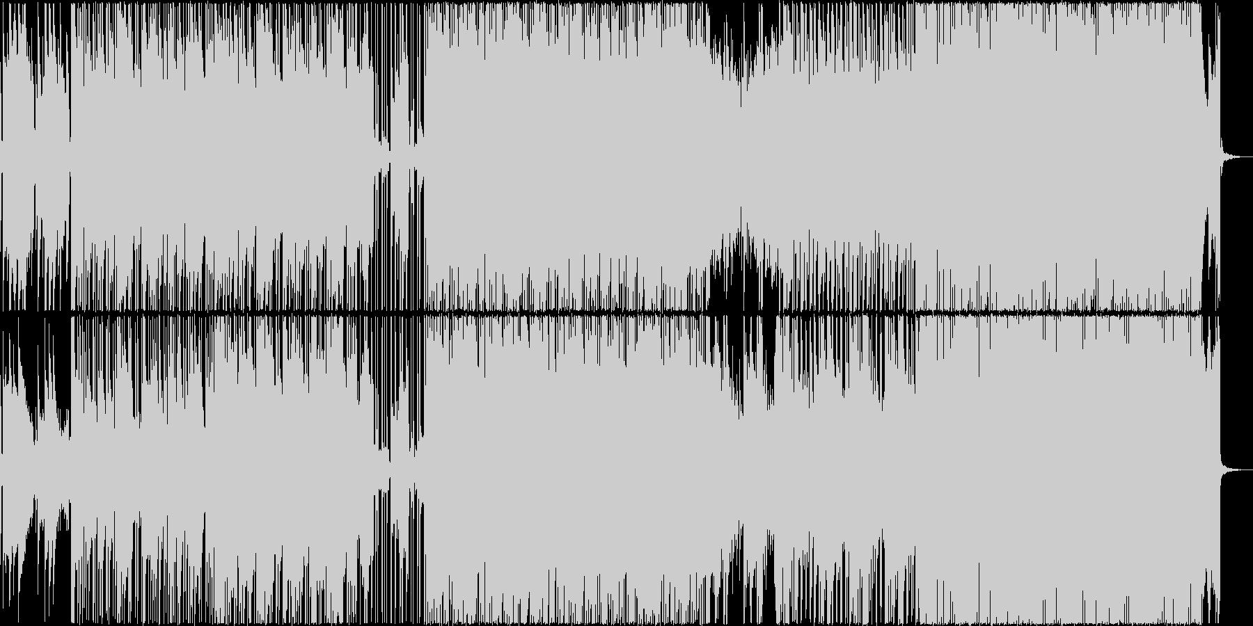 オルゴール+ギターのテクノポップですの未再生の波形