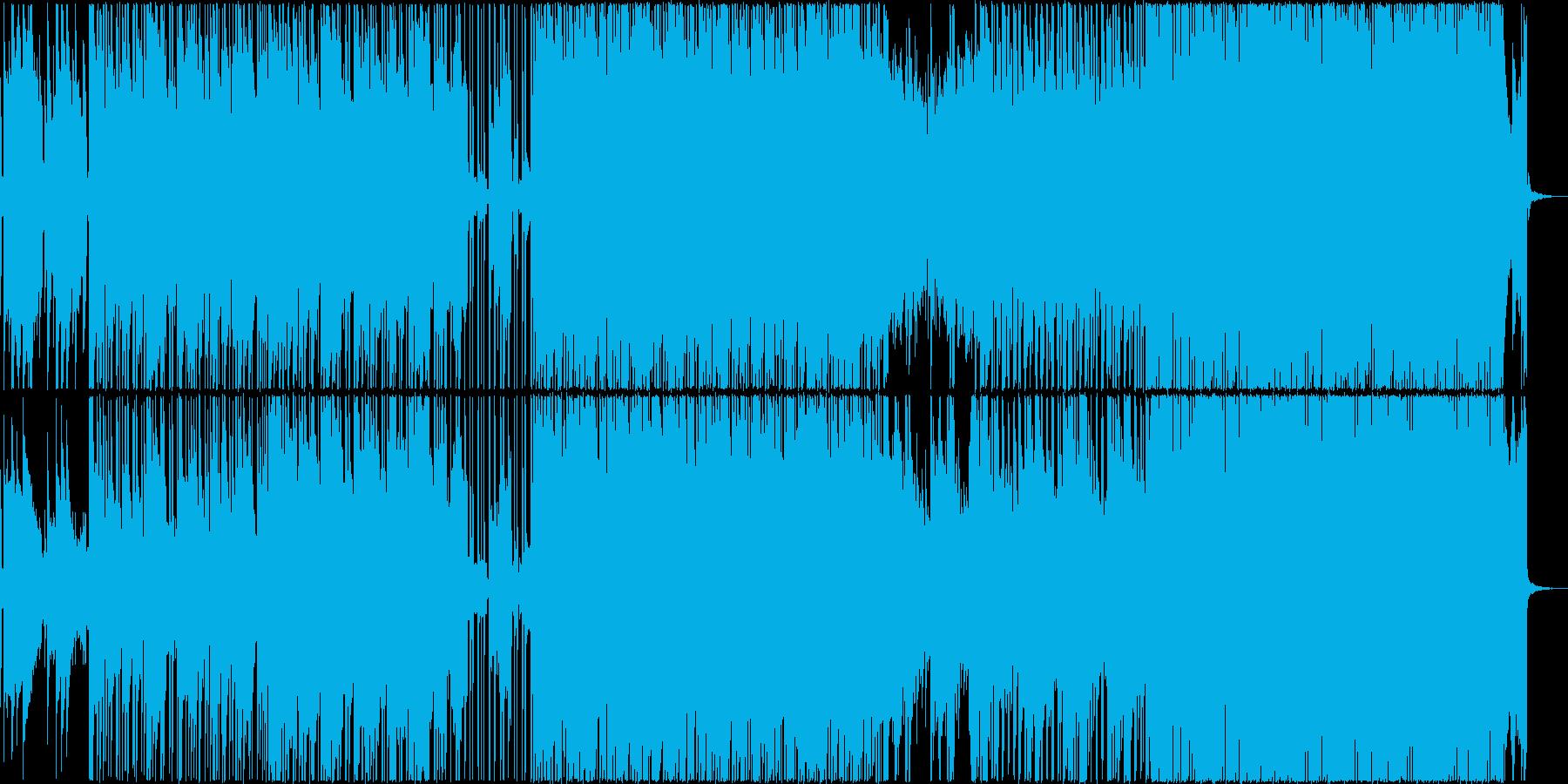 オルゴール+ギターのテクノポップですの再生済みの波形