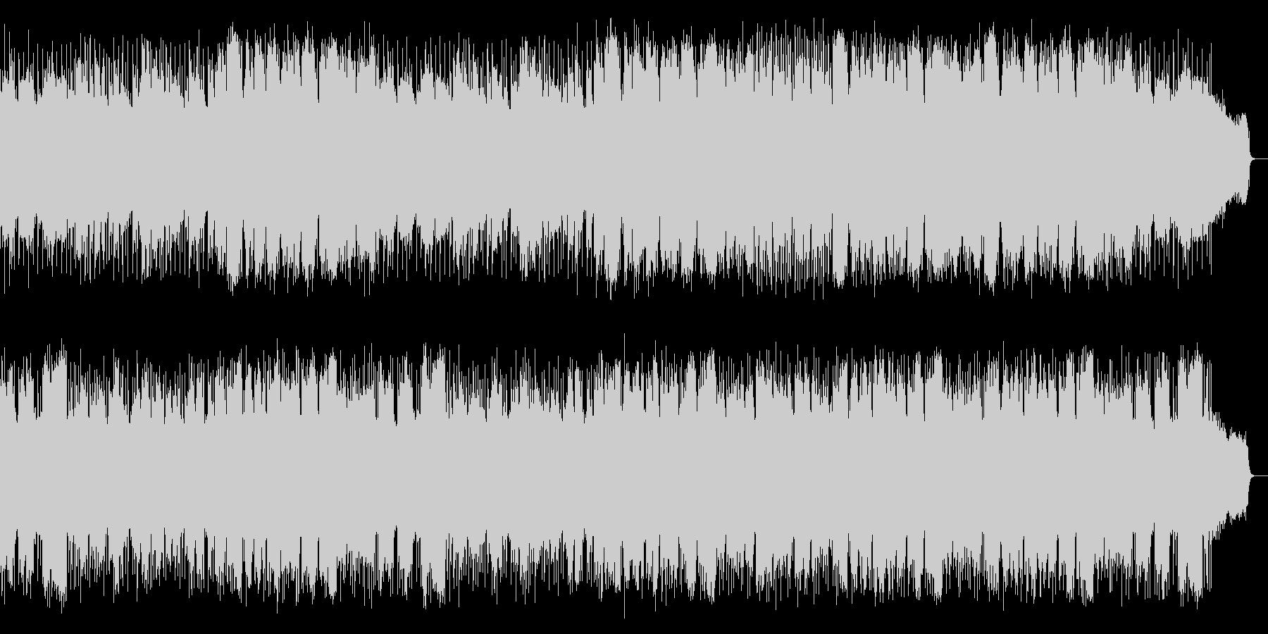 管楽器とピアノによる優しく切ないバラードの未再生の波形