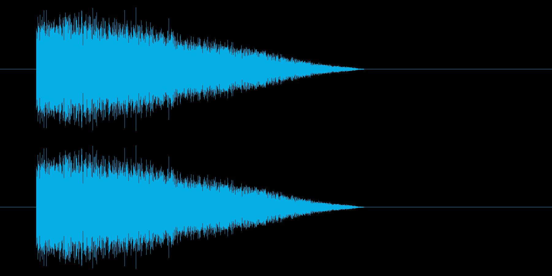 SNES-RPG04-08(魔法 氷1)の再生済みの波形