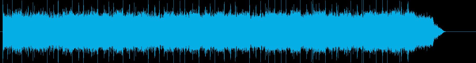 リザルト画面等に使える神聖なポップの再生済みの波形