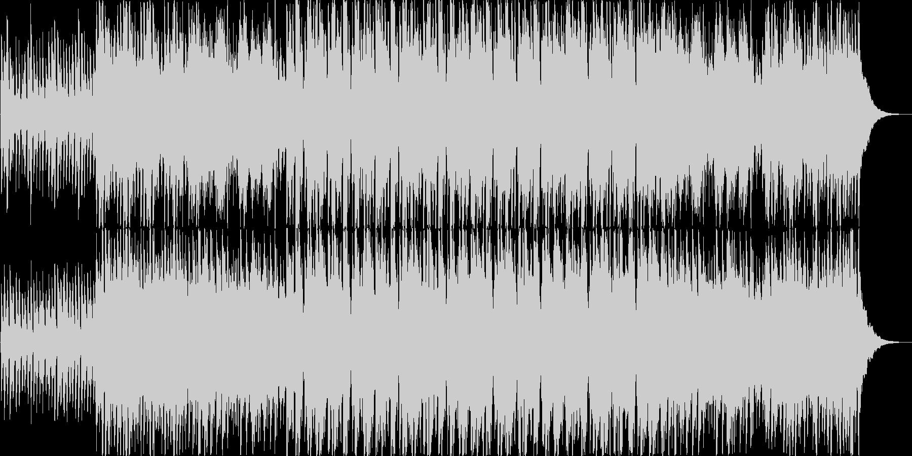 ほのぼのした雰囲気のアコギのインストの未再生の波形