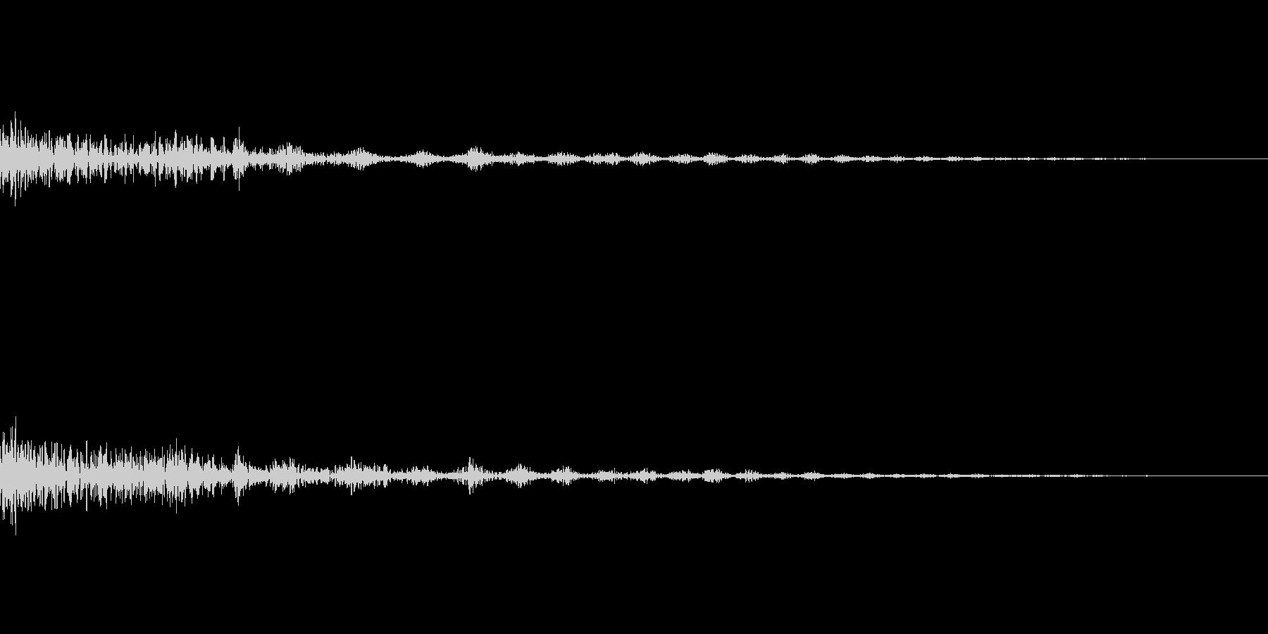 決定 シンセ03の未再生の波形