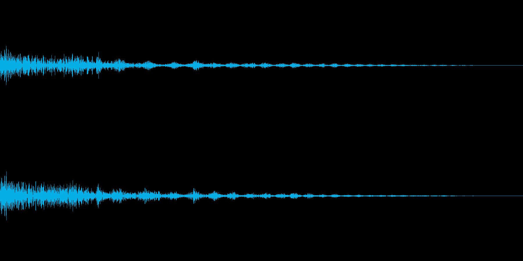 決定 シンセ03の再生済みの波形