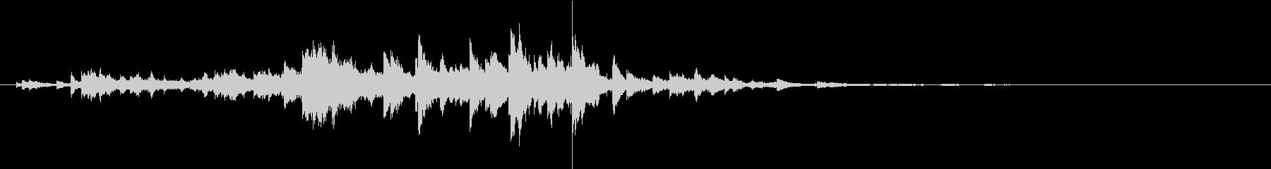 音侍SE「キラキラリーン」小ぶりベル_2の未再生の波形