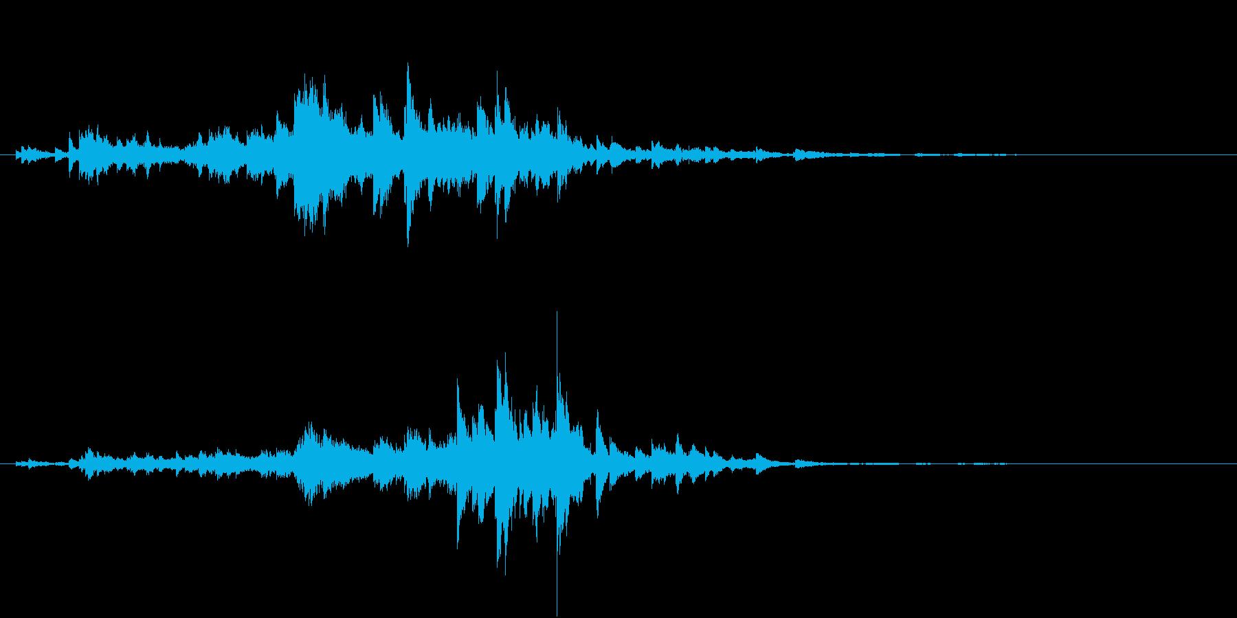 音侍SE「キラキラリーン」小ぶりベル_2の再生済みの波形