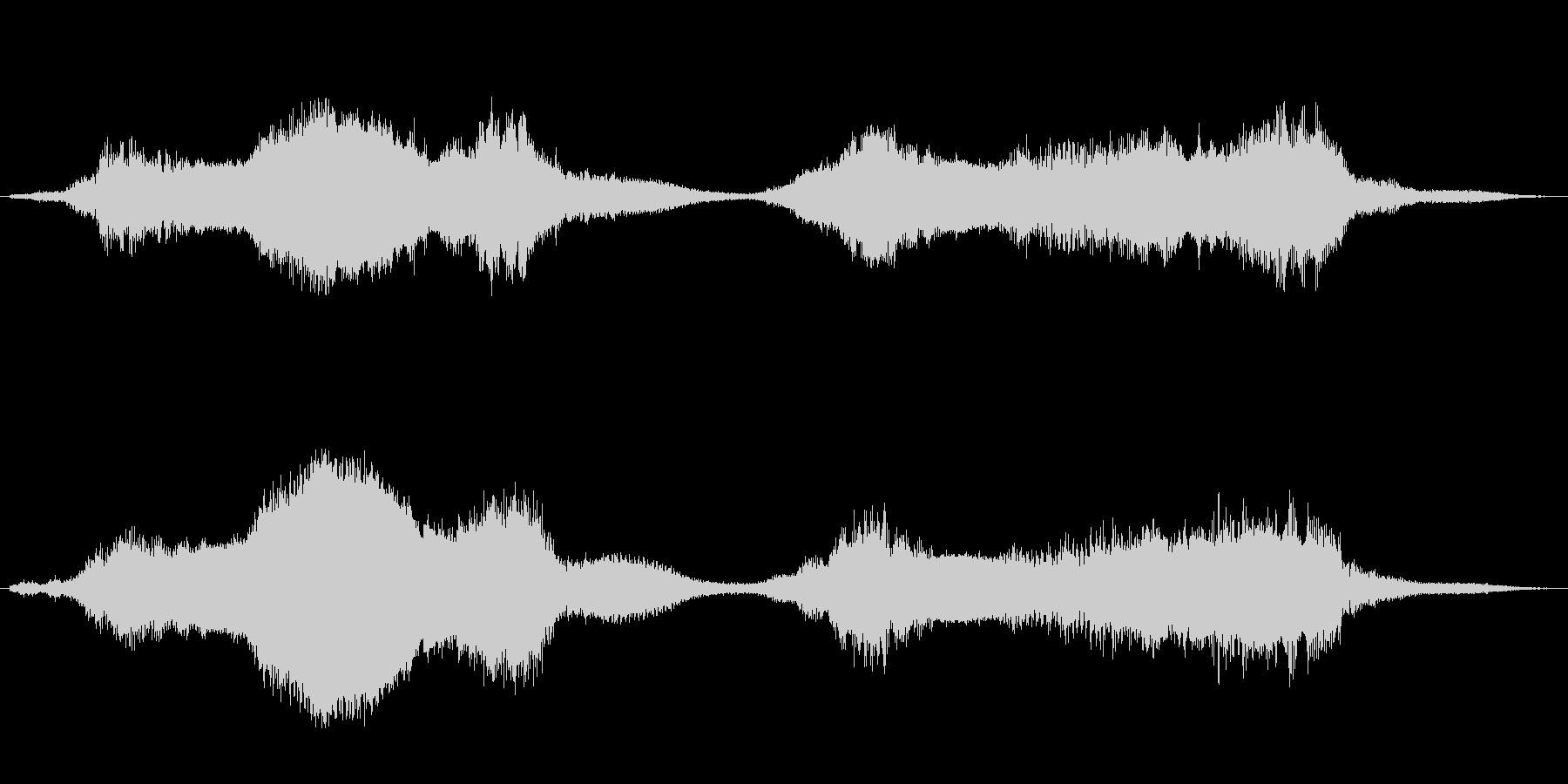 水底・下水・川底のイメージ音 ループ可の未再生の波形