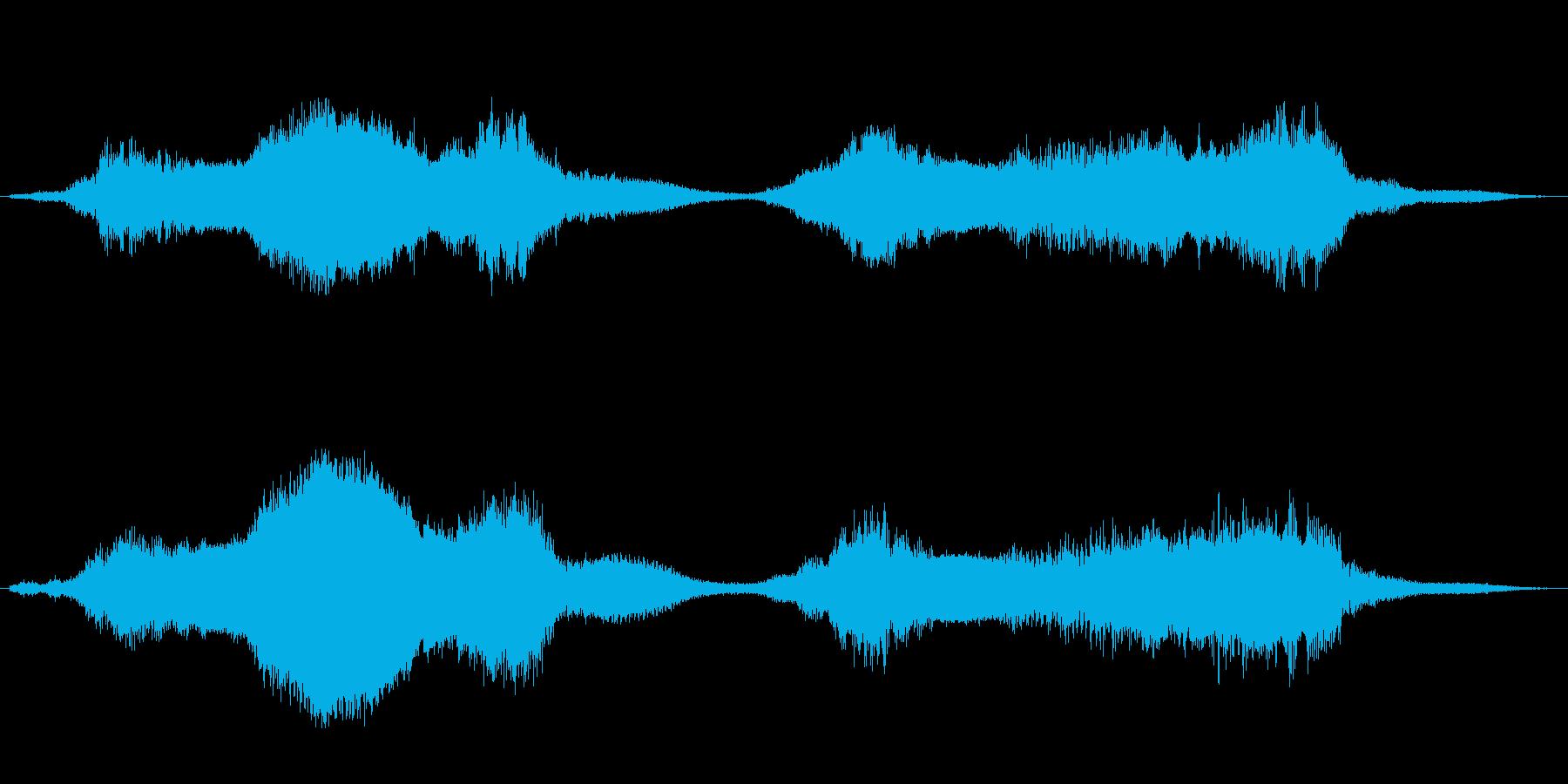 水底・下水・川底のイメージ音 ループ可の再生済みの波形