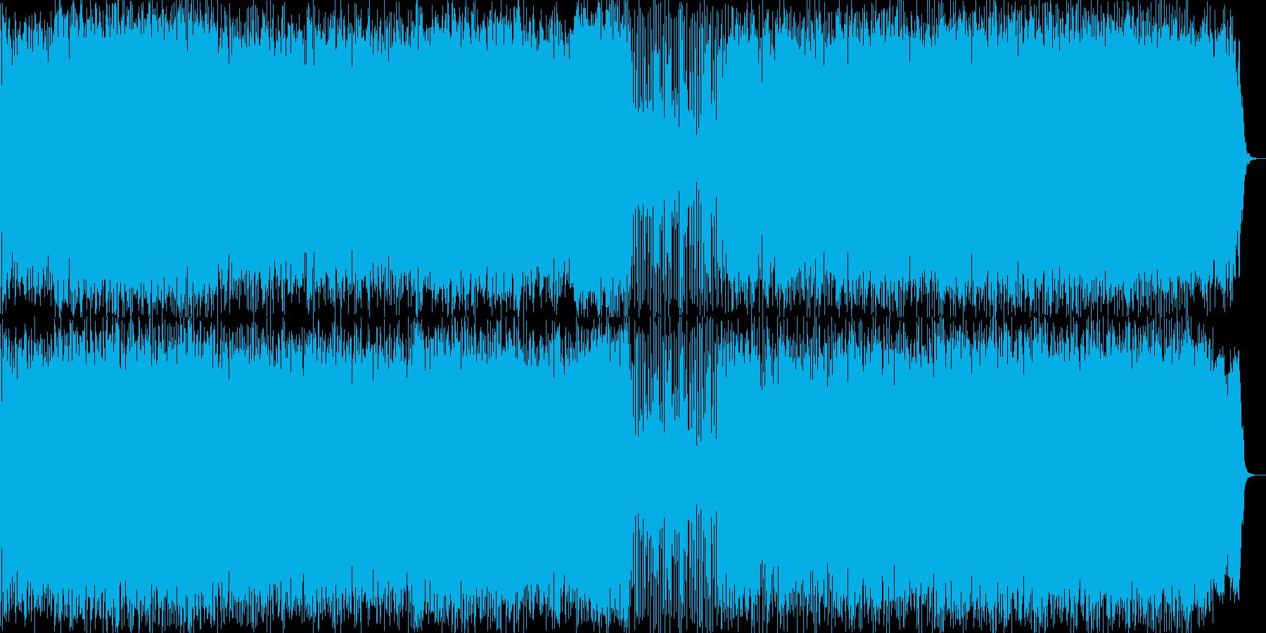 ミドルテンポのヘヴィメタルですの再生済みの波形