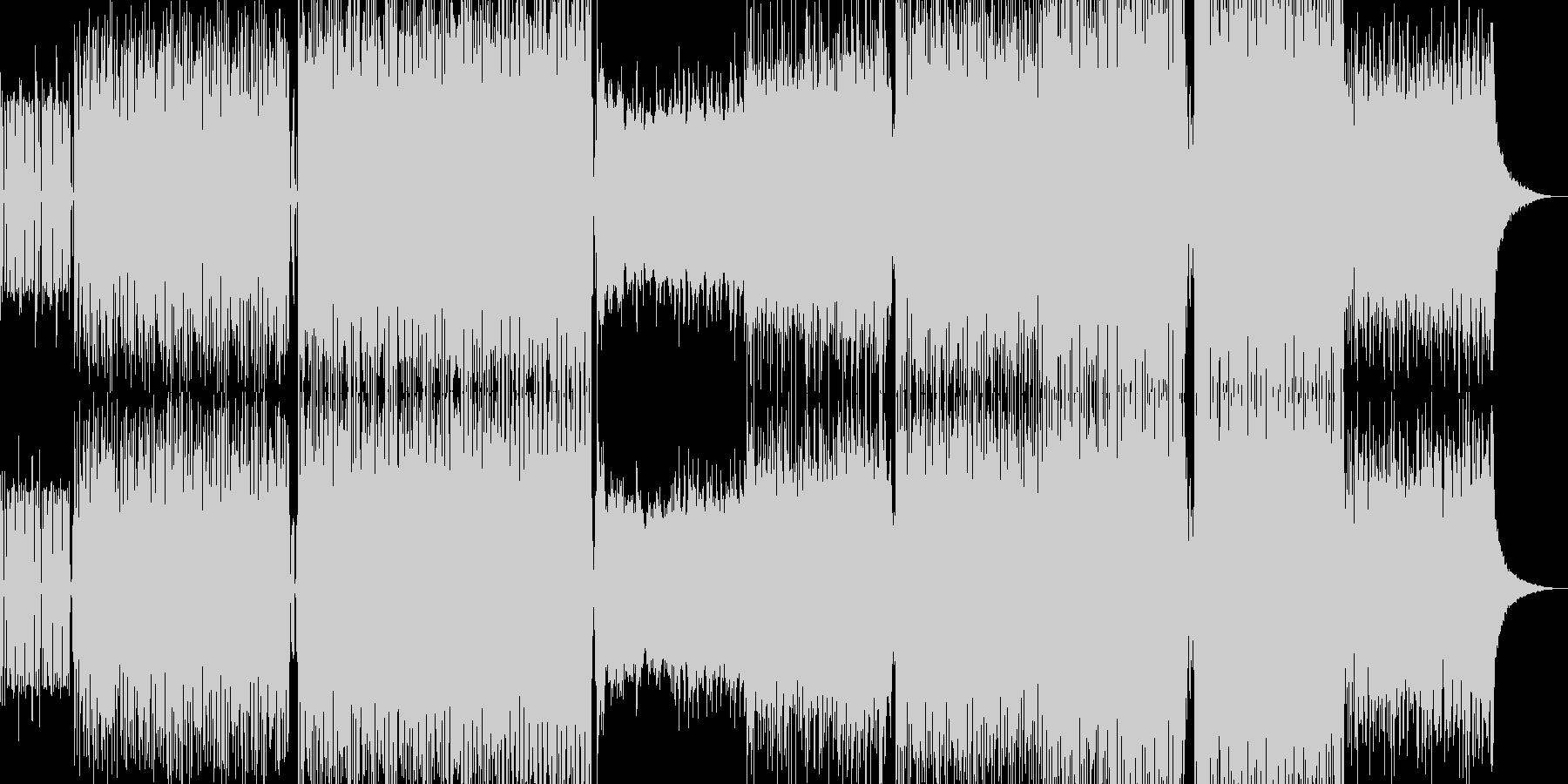 ブレイクビーツBGMの未再生の波形