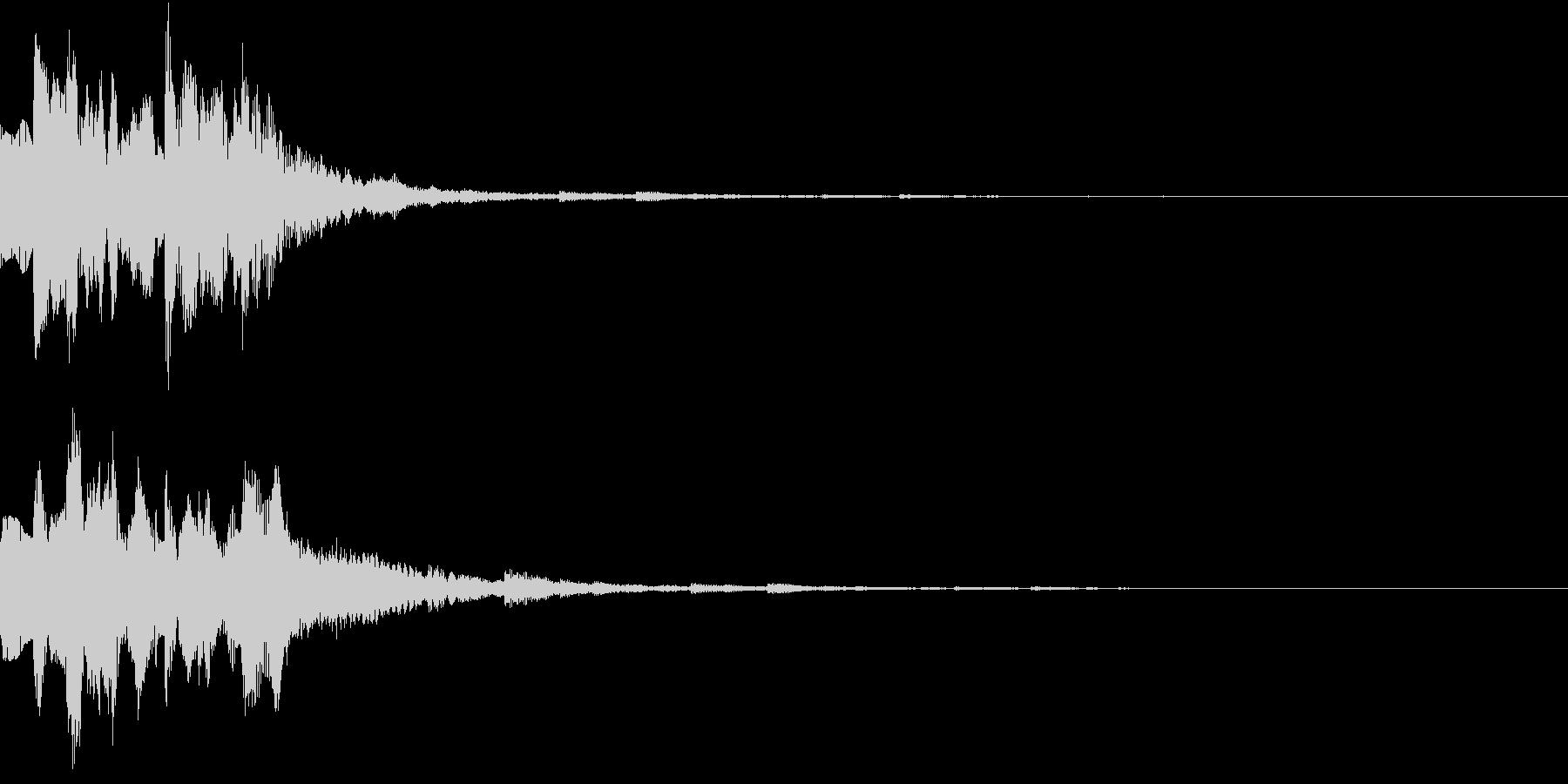 GameSFX ゲーム内の効果音 3の未再生の波形