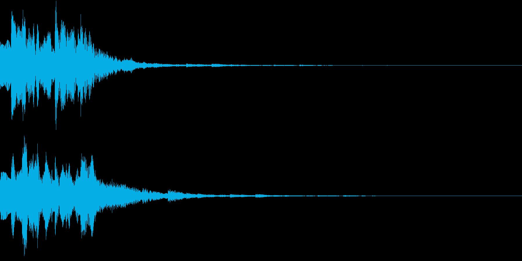 GameSFX ゲーム内の効果音 3の再生済みの波形