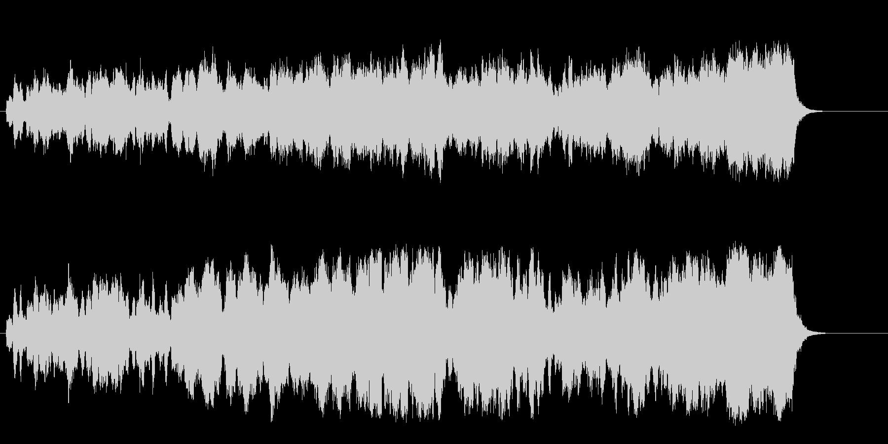 緩やかなメロディーが安らげるセミクラの未再生の波形