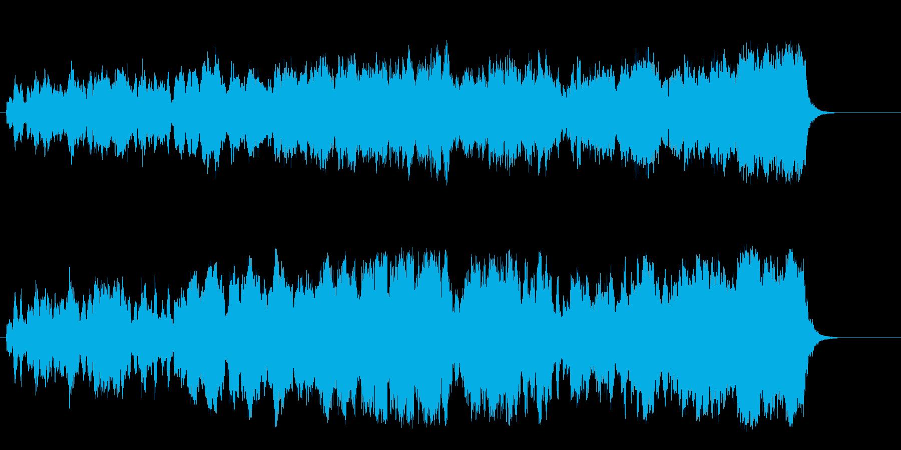 緩やかなメロディーが安らげるセミクラの再生済みの波形