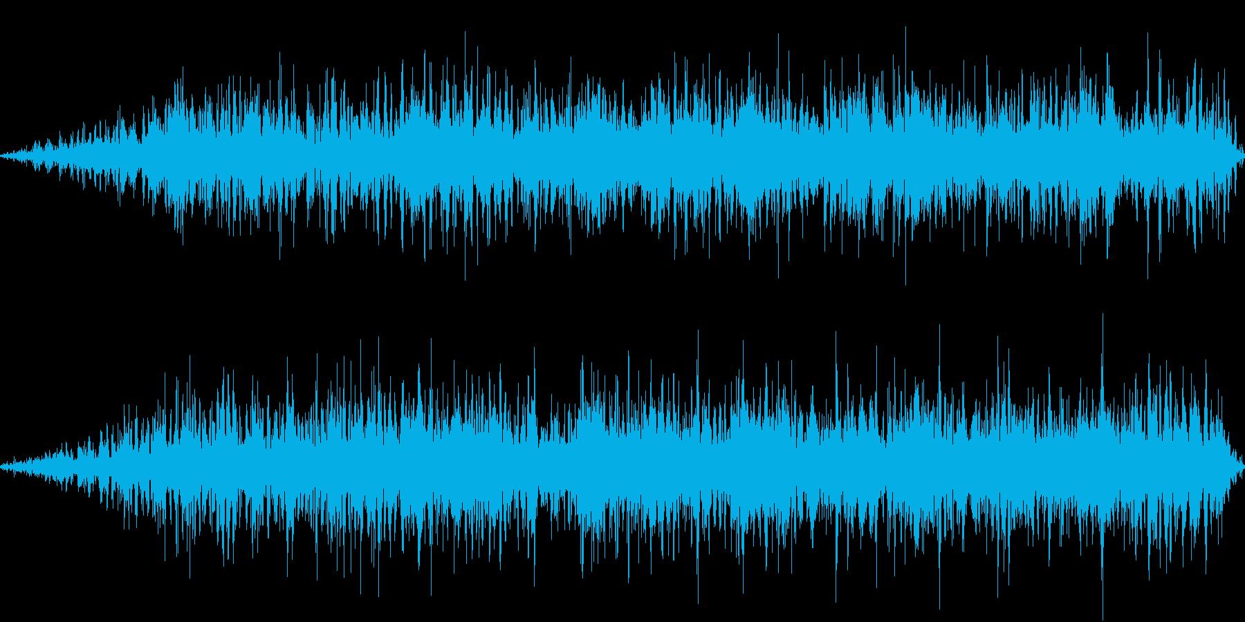 無機的なアンビエントです。の再生済みの波形
