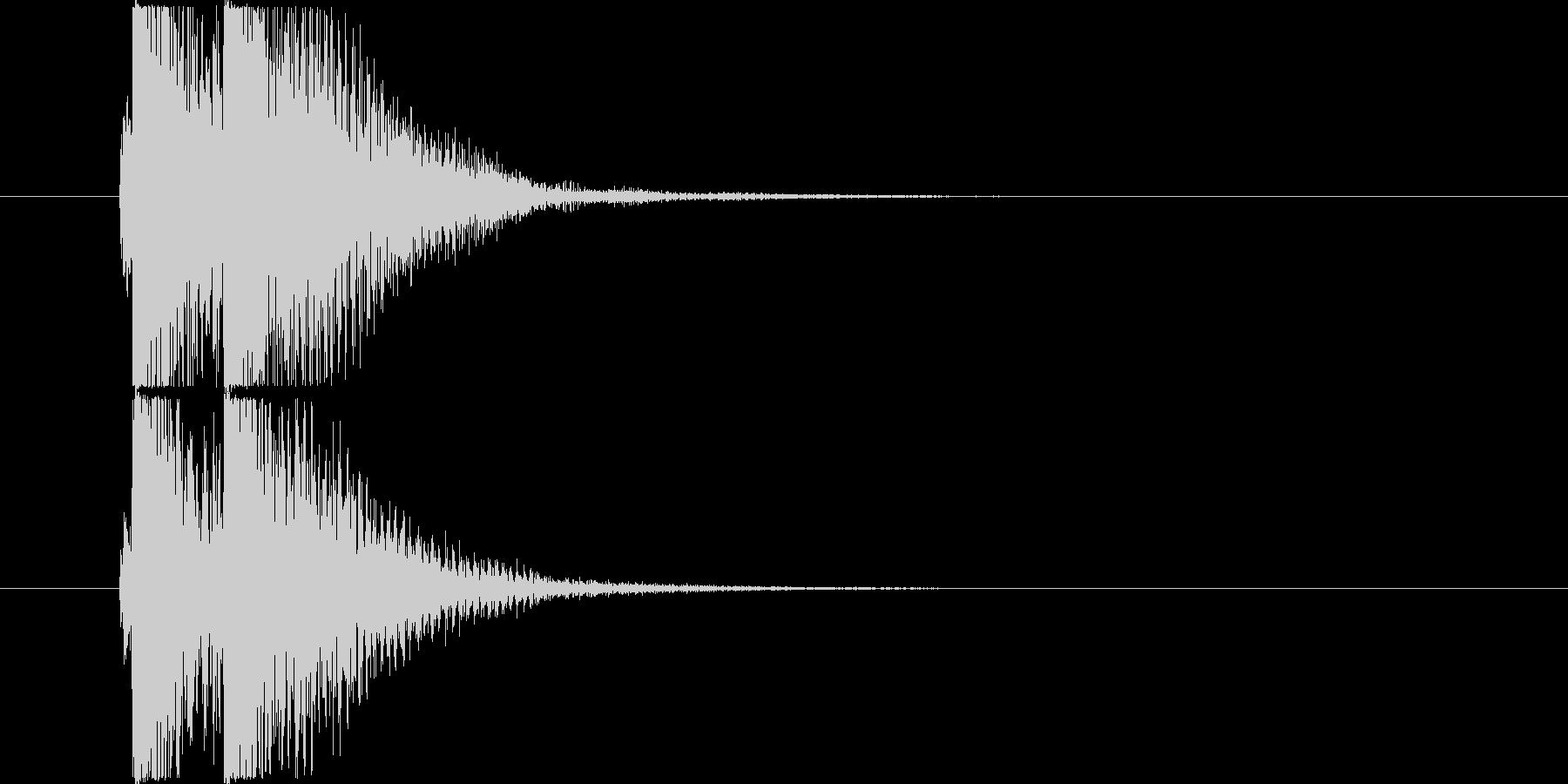 べベン/三味線/和風の未再生の波形