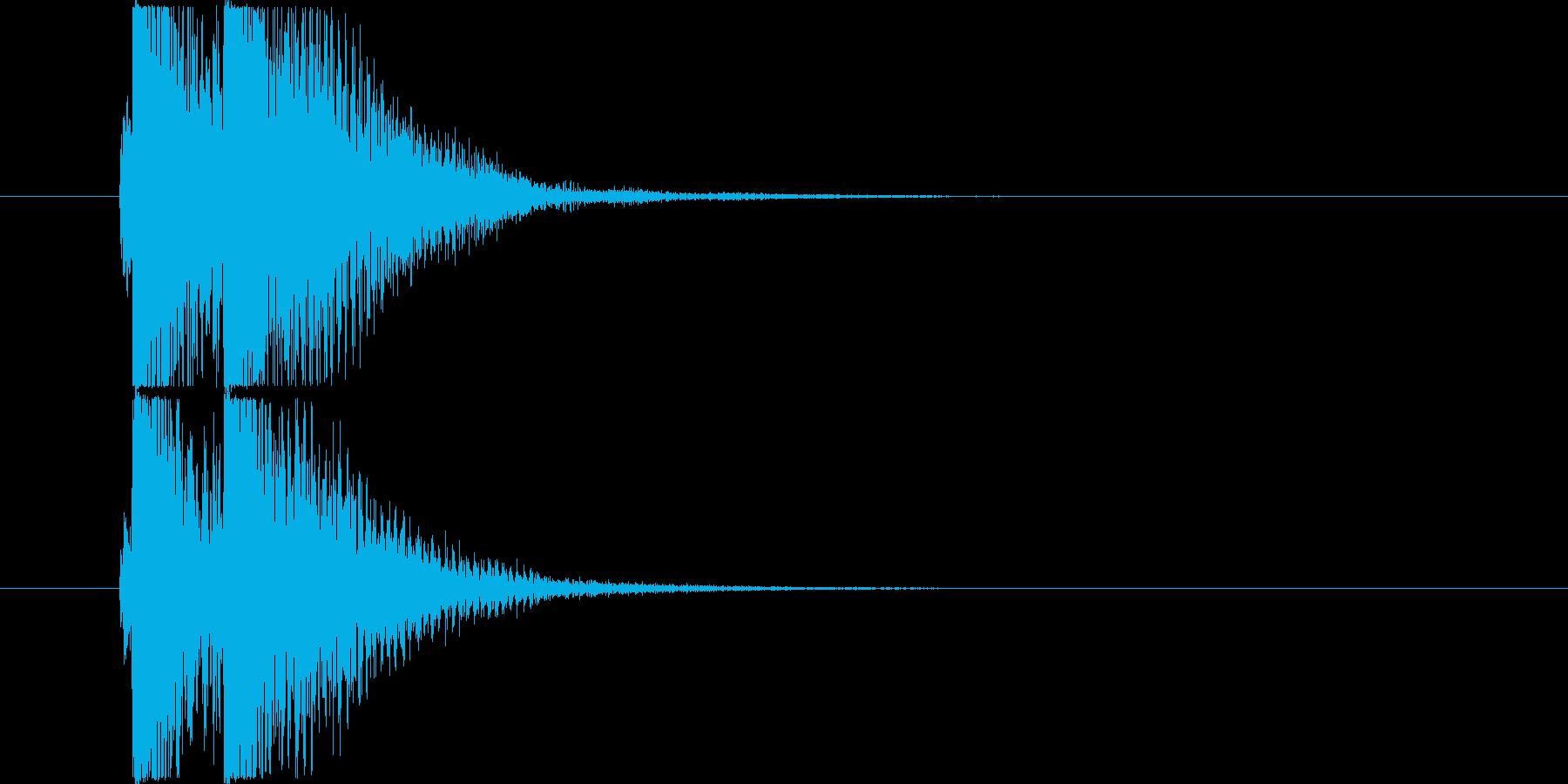 べベン/三味線/和風の再生済みの波形