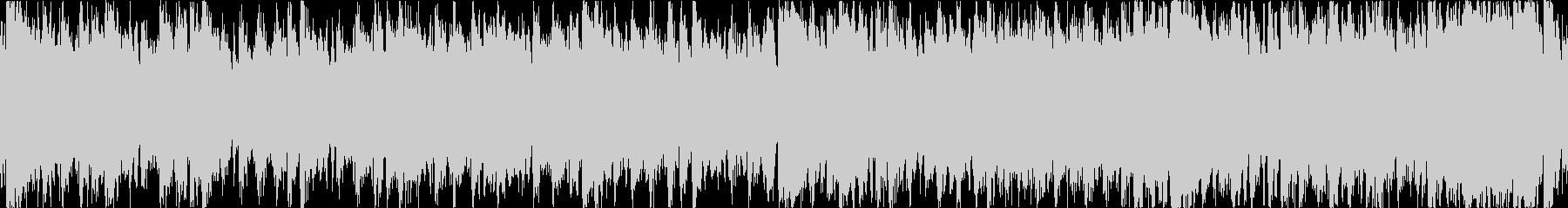 壮大なイメージのオーケストラのバトルル…の未再生の波形