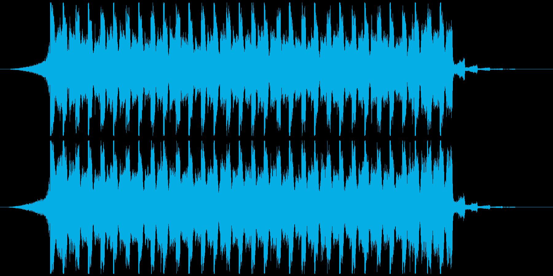 夏らしい洋楽ギターダンスポップShortの再生済みの波形