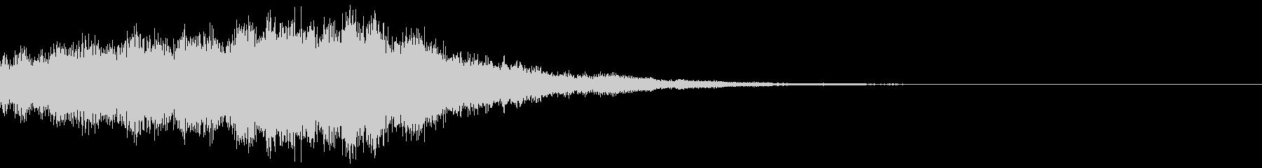 サウンドロゴ37_シンセDUの未再生の波形