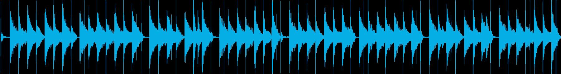 軽快で平和な日常系エレクトロニカの再生済みの波形