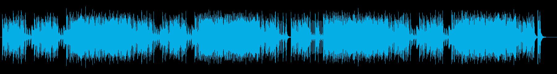 弾むようなメロディがかわいらしいポップスの再生済みの波形