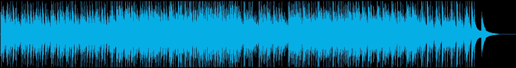 エンディング映像に壮大感動的なピアノオケの再生済みの波形