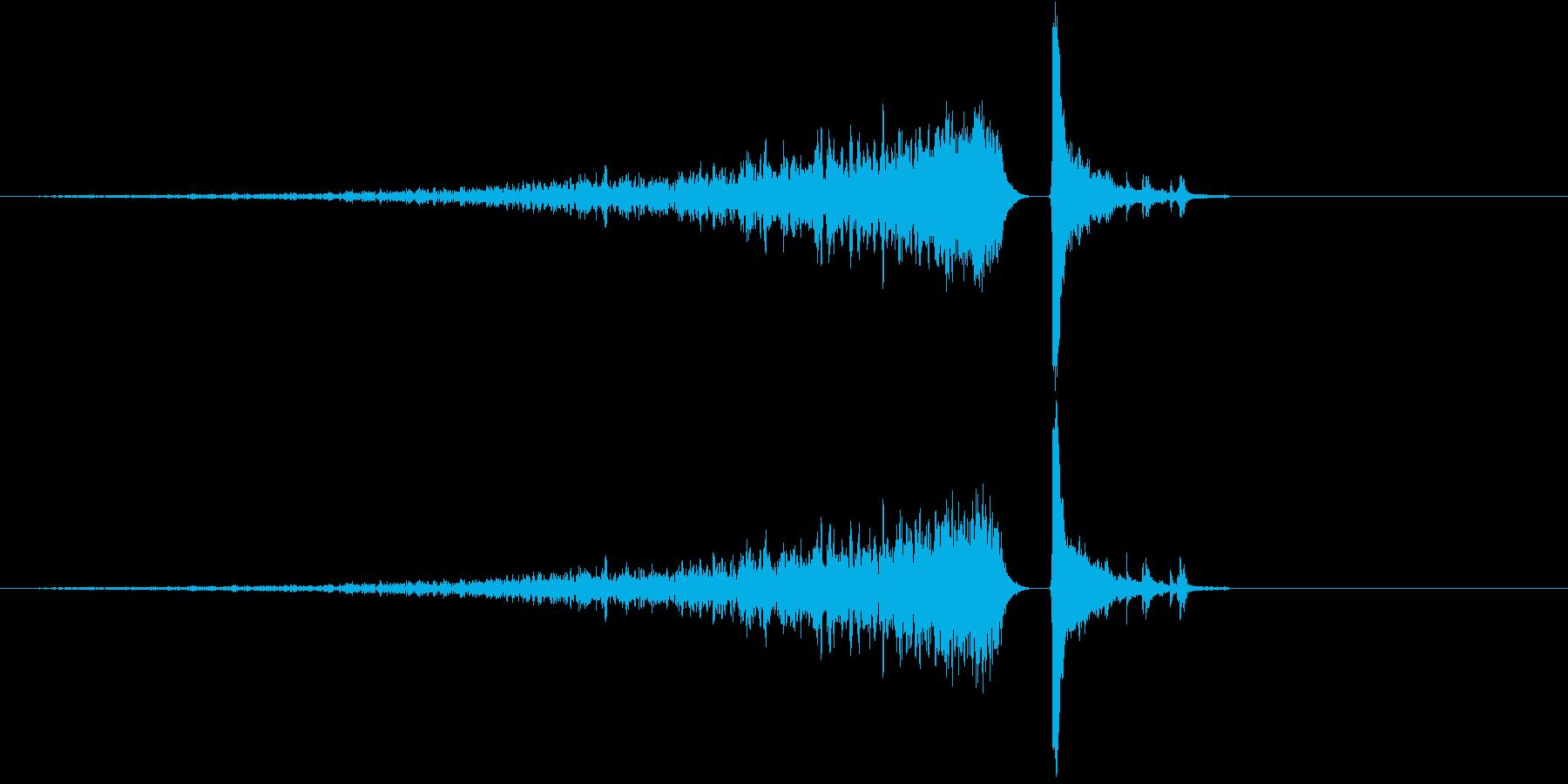 190_リバース4の再生済みの波形