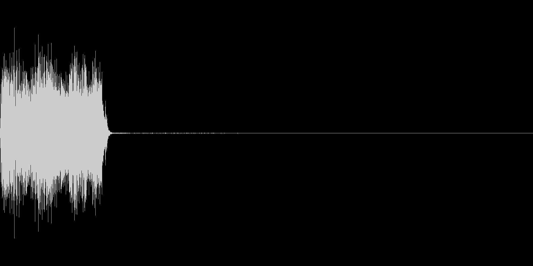 コックピットなどの細かい電子音_03の未再生の波形