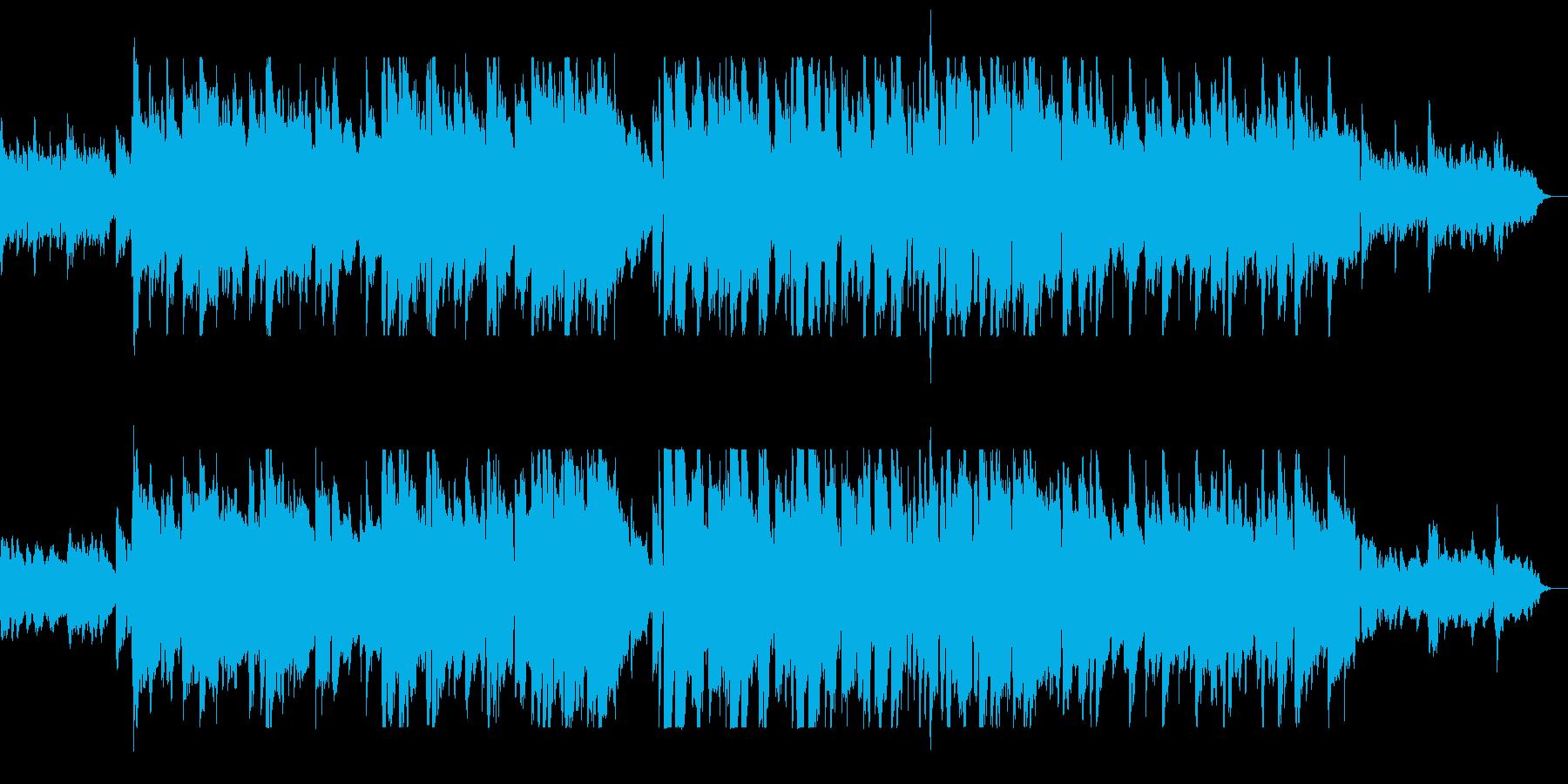 ロマンチックなクリスマスBGMの再生済みの波形