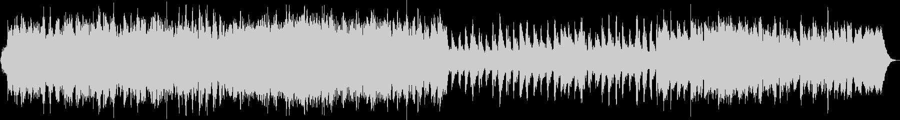 感動的なストリングスとピアノの未再生の波形