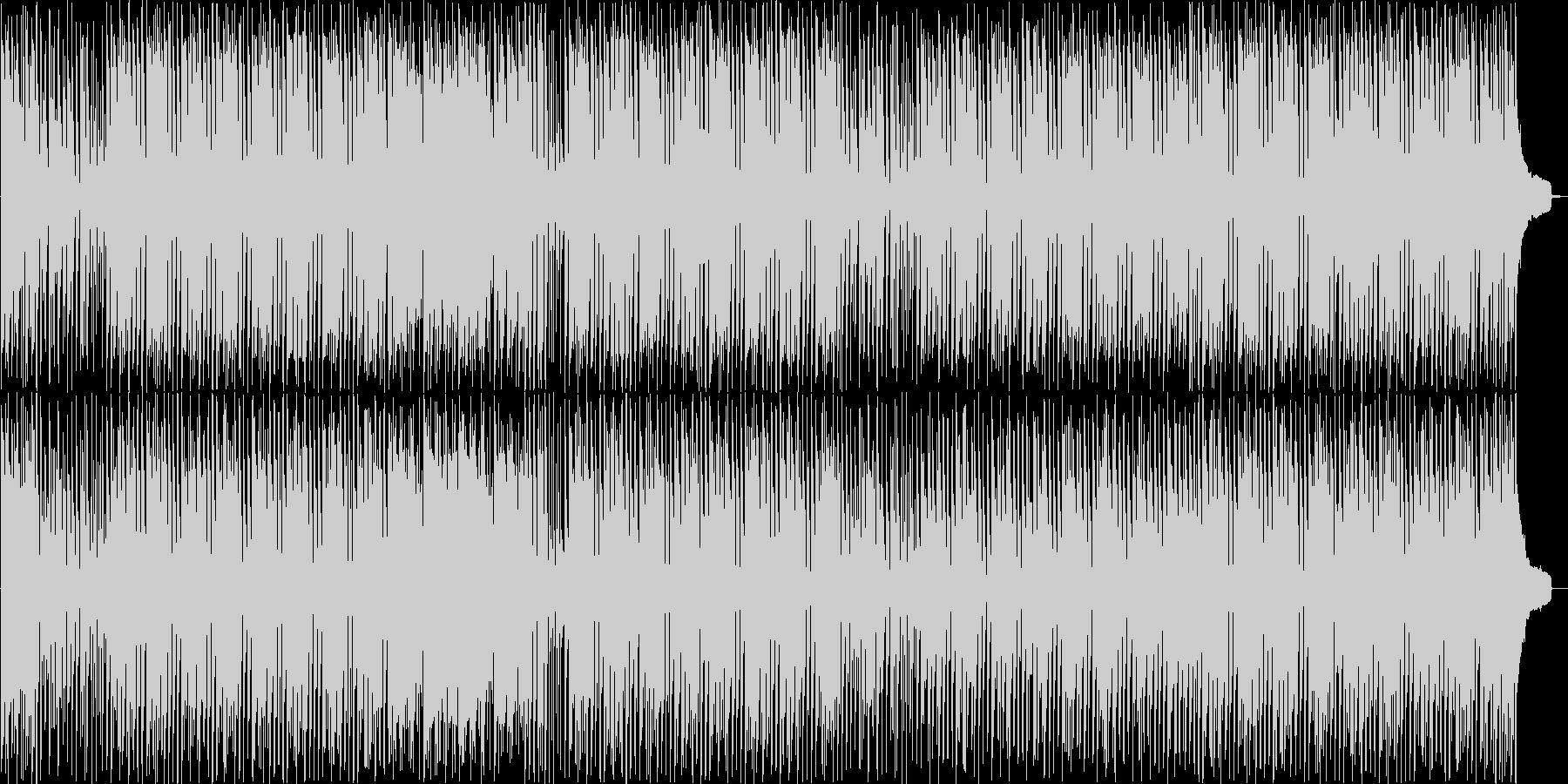 明るいハッピーなアコースティックBGM!の未再生の波形