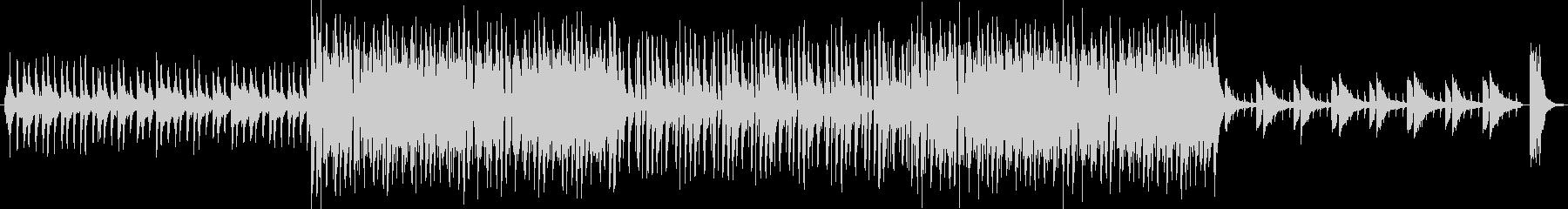 不穏な空気感の出るクラシックテクノBGMの未再生の波形